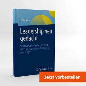 Buch vorbestellen: Leadership neu gedacht